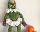 Holiday Monster Crochet-Along Collectible Doll Amigurumi Plush