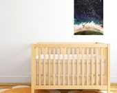 Personalized baby gift - customised wall art - Star Constellations customised to baby's birth - baby's first christmas gift