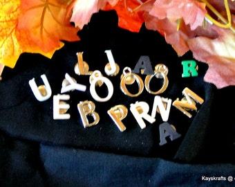 Letter Thumbtacks, Pushpins, Alphabet Button Tacks Thumb Tacks Push Pins, Corkboard Decor, Office Decor, Christmas Gift