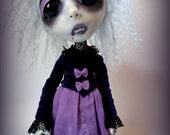 Loopy Southern Gothic Art Doll Victorian Dark Goth Vampire Thalia