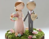 custom wedding cake topper - order for - LINDANUNZIATA