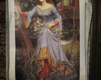"John William Waterhouse Ophelia Art Print 22x35"" Heavy Stock Paper"