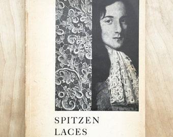 Vintage 1950s Lace Textile Book / Spitzen Laces Dentelles