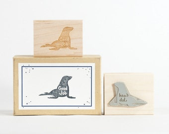 Seal of Approval Rubber Stamp Quirky Teacher Gift