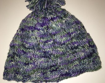 Child's Wool Pom Pom Hat