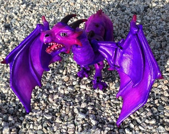 3D Printed, Hand-Painted BJD Dragon