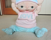 Bridget a One of a Kind Soft Sculpture Baby Doll by BeBe Babies