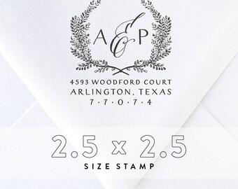 return Address Stamp No. 8