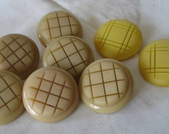 2 Sets of VINTAGE Chunky Plastic BUTTONS