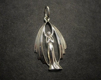 Angel pendant - Sterling silver