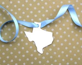 Tiny Texas Tags - set of 10
