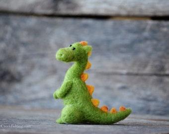 Needle Felted Dragon - Baby Dragon 16