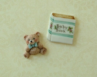 Baby Buttons set of 2