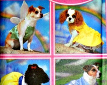 Disney Princess Costumes For Dogs, Simplicity 5838 Sewing Pattern, Size XS-SM, Uncut FF, Cinderella, Snow White, Tinkerbelle, Belle