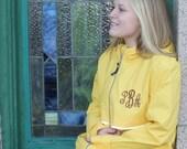 Monogram Raincoat Yellow Rain Jacket Charles River Apparel