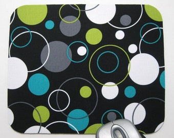Buy 2 FREE SHIPPING Special!!   Mouse Pad, Computer Mouse Pads, Fabric Mousepads         Hoopla Dot