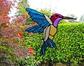 Hummingbird Window Cling Set