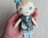Pocket Dolly - Blond Haired Girl in the Bunny Dress