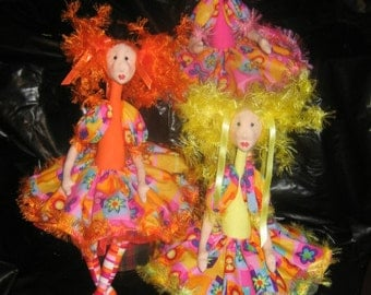 e-Pattern - Candy a quirky bright doll - PDF