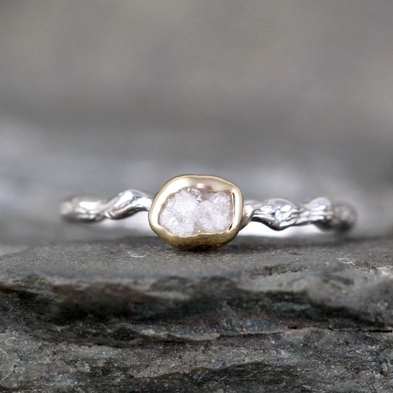 twig engagement ring tree branch rings by