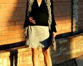 Vintage Skirt-Skirt-Mini Skirt-Womens Skirts-Womens Clothing-Maternity-Claire Ruffled Bottom Edge-XS-XL-Classic Seersucker-Color Choices