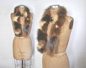 Fox Fur Scarf BOA / collar