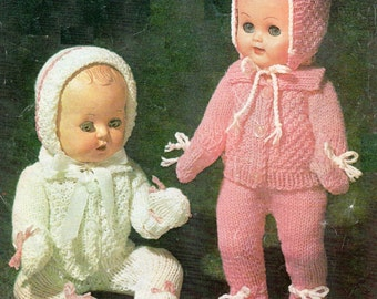 Free Knitting Patterns For 12 Inch Dolls Clothes : Dolls clothes knitting patterns   Etsy UK