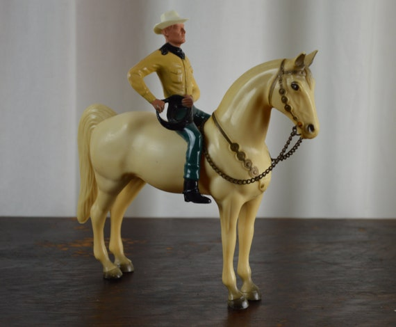 Horse Toys For Boys : Vintage cowboy and horse s toys by