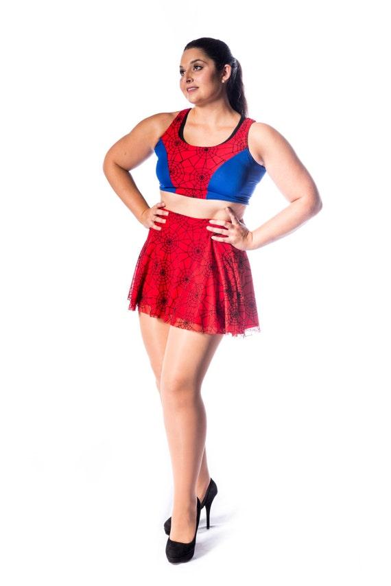 Spider Skater Skirt