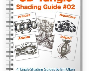 3D Tangle Shading Guide 02 - Download PDF Ebook Tutorial