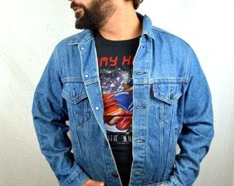 Vintage Levis 80s Denim Jean Jacket Coat