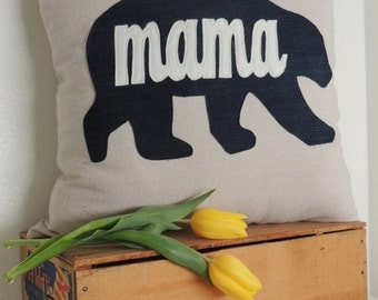 Mama Bear Pillow