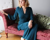bamboo pajama set including tunic and lounge pants - ICON bamboo sleepwear and lingerie range - made to order