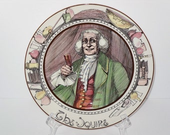 Vintage Royal Doulton Plate The Squire