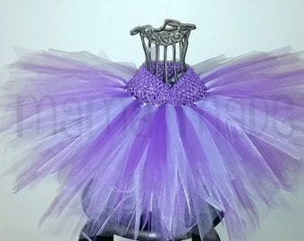 Purple and Lavender Fairy Tutu Purple Fairy Tutu Costume Fairy Size newborn 3 mo 6 mo 9 mo 12 mo 18 mo 24 mo 2t 3t 4t 5t 6 8 10 12 14