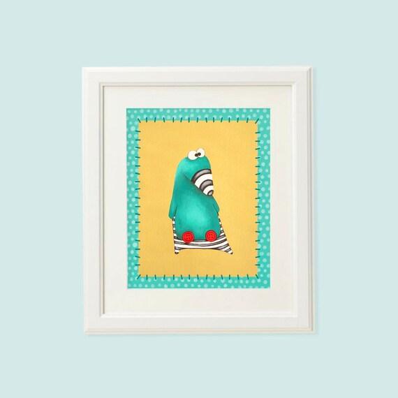 Baby art nursery, Baby art prints, Duck art, Baby room art, Baby room wall art, Poster kids, toddler art, Duck decor, Baby artwork, Duck art