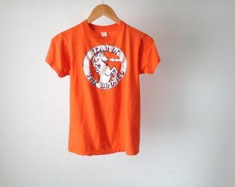 vintage DENVER BRONCOS 80s CHAMPIONSHIP t shirt