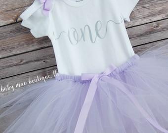 Baby Girl First Birthday Outfit; One Birthday Tutu Outfit; Baby Girl First Birthday Tutu Outfit; Babies first birthday Tutu