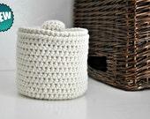 Cream Toilet Tissue Basket Bathroom Decoration Spare Roll Holder Off White  Home Decor Custom Colors