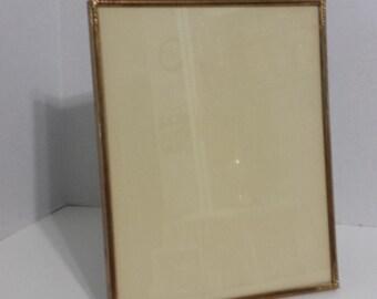 "Beautiful 8"" x 10"" Vintage  Brass Frame"