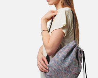 25% OFF Drawstring backpack /Black Pearl/