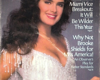 1987 TV Guide - Brooke Shields on the Cover - Guide # 1799 - VG Complete