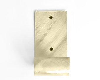 SUSPE (L) brass wall hook