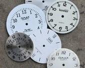Wrist Watch Faces -- set of 6 -- D14