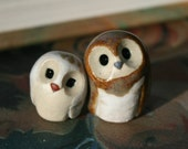 Rustic Pygmy the Clay Owl: Harry Potter Inspired Owlery