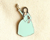 Hamilton Eliza Schuyler Sisters Soft Enamel Pin - Jewelry - Birthday Gift