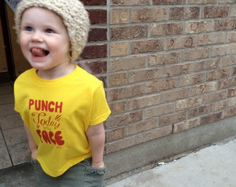 Punch Today In The Face kids t-shirt