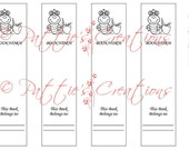 Mr Bookworm Bookmark Page