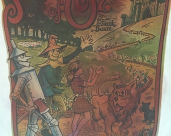 Wizard of Oz iron-on fabric transfer, vintage