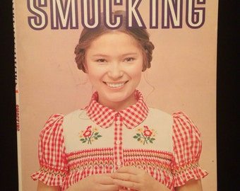Smocking Tutorial and Sewing Instructional Book from Japan 1970's